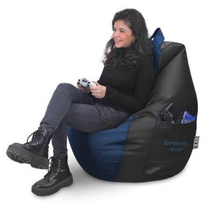 Happers Puff Gamer Azul XL